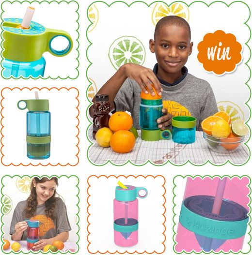 WIN a Zing Anything gift pack containing a Citrus Zinger and two Kid Zingers.