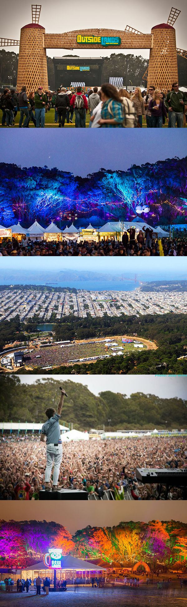 Outside Lands Music Festival - one of the most underrated music festivals in the US!