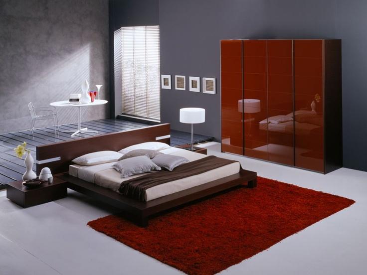 Fuji platform bed ltd online bed frames pinterest beds platform and platform beds - Characteristics of contemporary platform beds ...