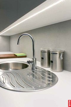 LED kitchen light fixture - Light bars are a great way to liven up the space under the cabinets