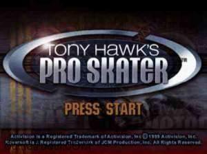 Download gratis game psx jadul Tony Hawk's Pro Skater