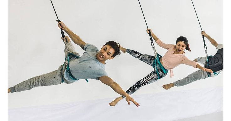 I want to do bungee dance workout classes but there aren't any in Sydney! :'(