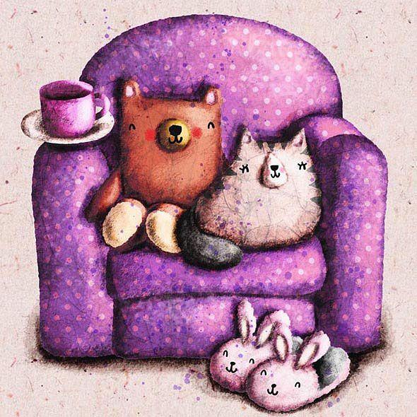 Милые иллюстрации Колли Джонсона-Айзекса (Cally Johnson-Isaacs)
