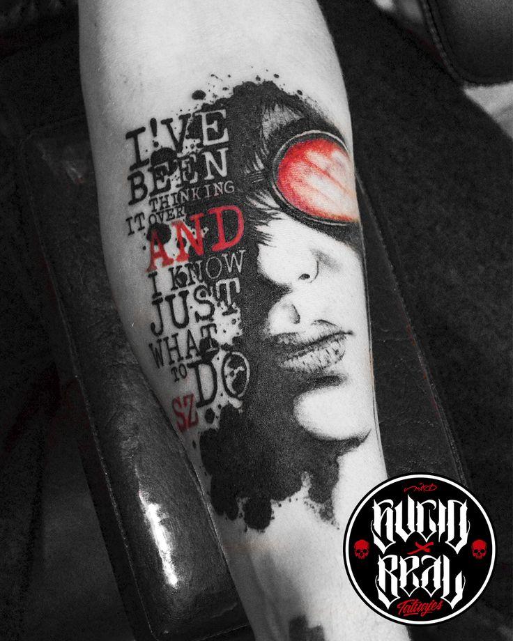 Joey Ramone y frase trash para Seba Zabala en el estudio Sucio X Real Tatuajes (La Plata - Buenos Aires) #Tattoo #Tatuaje #Argentina #TattooArgentina #Gualeguaychú #LaPlata #TattooGualeguaychú #TattooLaPlata #Ink #SucioXReal #SantoUno #Art #TattooArt #Joey #Ramones #Trash #Polka #TrashPolka