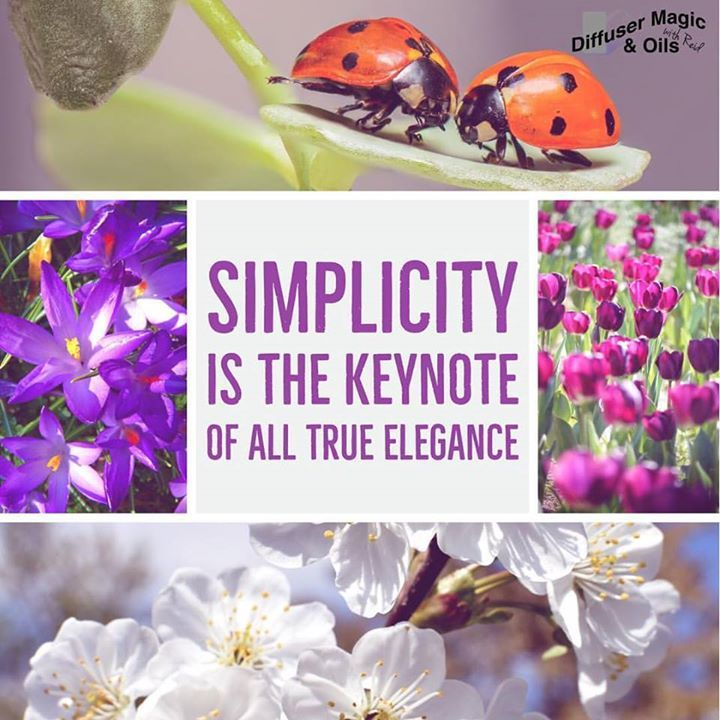 Simplicity is the keynote of all true #elegance #