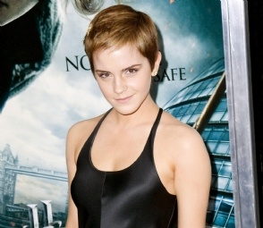 Emma Watson. The ultimate pixie!