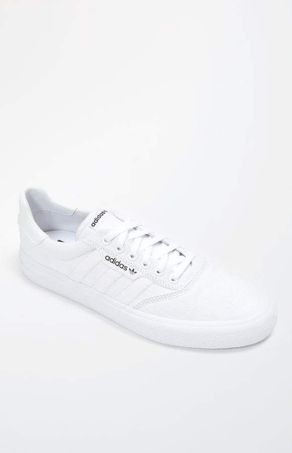 adidas 3MC Vulc White Shoes | Woman White Sneakers in 2019