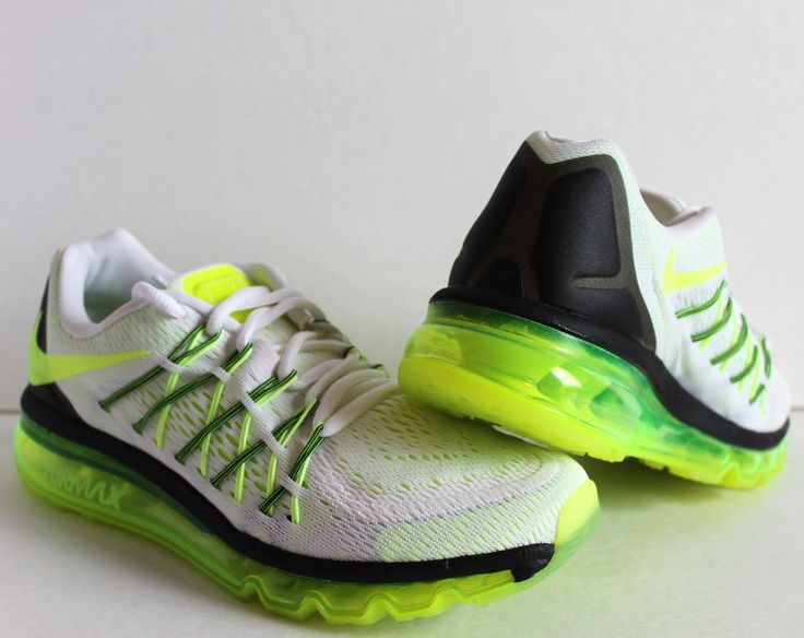 Nike Air Max 2015 White Black Volt