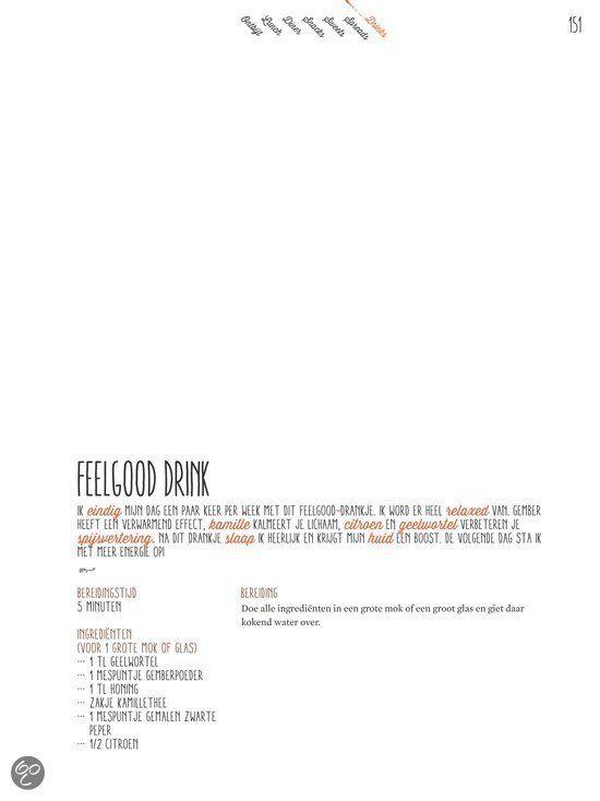 Feelgood drink Powerfood, Rens Kroes