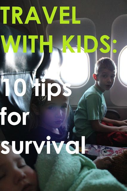 Getting on a plane, train or automobile this winter with your kids? Before you do, check out 10 Tips for Survival! {RadMomCoolKid}