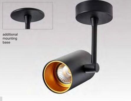 LAMPA WEWNĘTRZNA (KINKIET) ZUMA LINE TORI SL 1 (black gold)