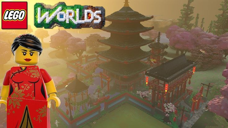 Lego Worlds | Chinese New Year Custom Build | Part 2
