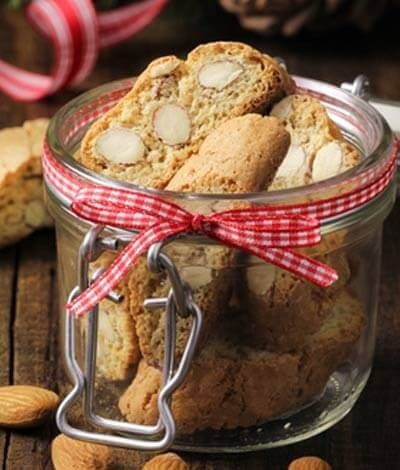 Low Carb Mandel Biscotti