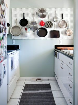 Design Challenge: Make the kitchen functional for cooking and dining.