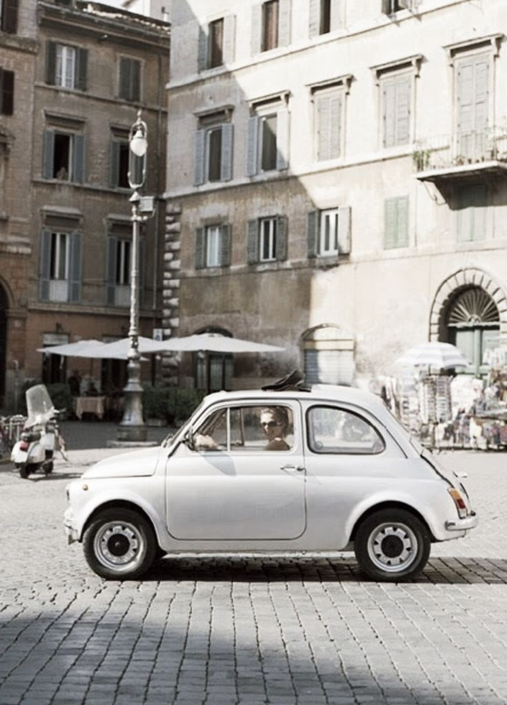 darling little vintage Fiat 500