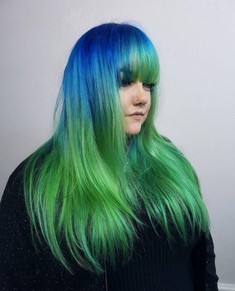 Jaymz Marsters on Manic Panic professional hair colour
