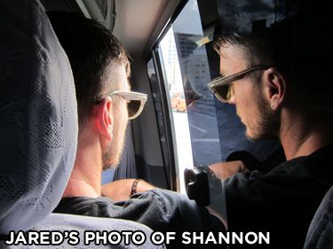 Jared Leto's photo of his brother, Shannon Leto. I love this photograph.