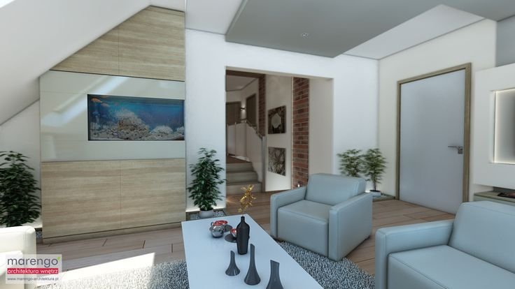 Projekt domu koło Myślenic; więcej na: http://marengo-architektura.pl/portfolio/dom-kolo-myslenic/