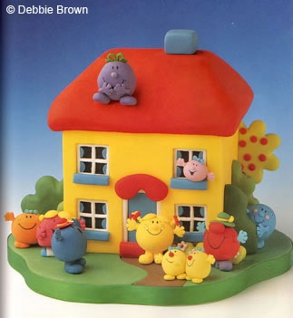 The Mr Men Lovable Character Cakes