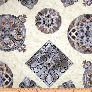 Timeless Treasures - Mosaic С8611 Medallions Beige
