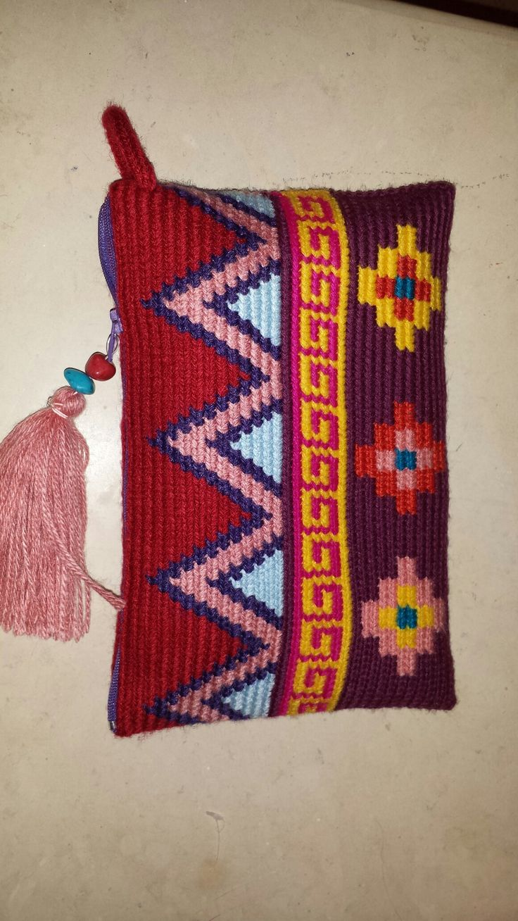 Wayuu clutch handmade