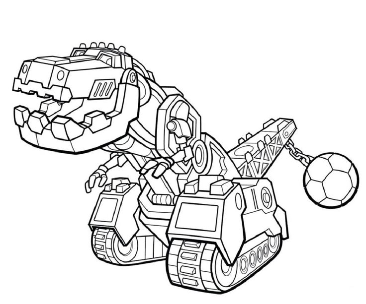 dinotrux coloring pages dino truks | Coloring pages for ...