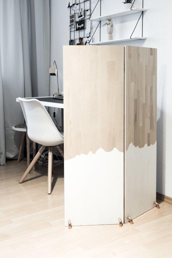 Die besten 25+ Selbstgebauter Raumteiler Ideen auf Pinterest - wohnzimmermöbel selber bauen