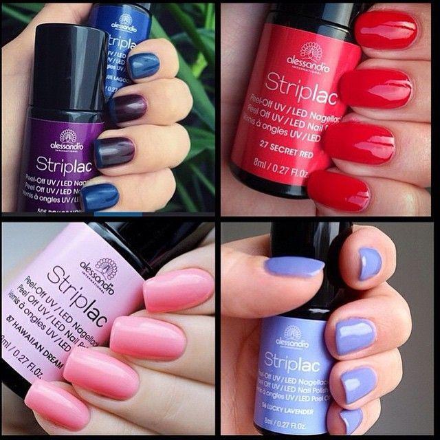 Striplac Colors #alessandroGR #alessandrointernational #alessandronails #striplac #funnails #perfectnails #notd