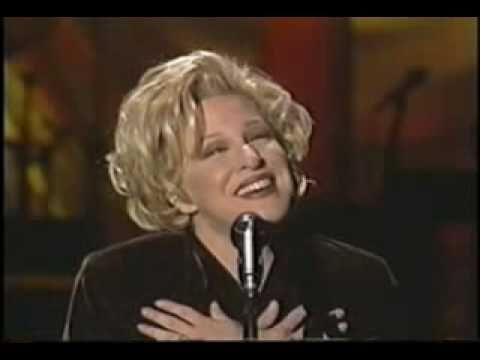 """#Bette_Midler -  """"In my life"""". Originally written by John Lennon and sang by #The_Beatles. She just puts so much heart into it though. ♥"""