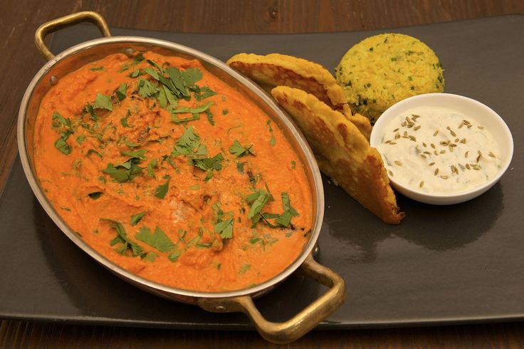 What The Fat Book's LCHF Butter Chicken with Coconut Naan  #WhatTheFatBook #WTF #ButterChicken #LCHF #LowCarbHealthyFat #GlutenFree