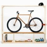 Minimalist Shelf for Your Bicycle