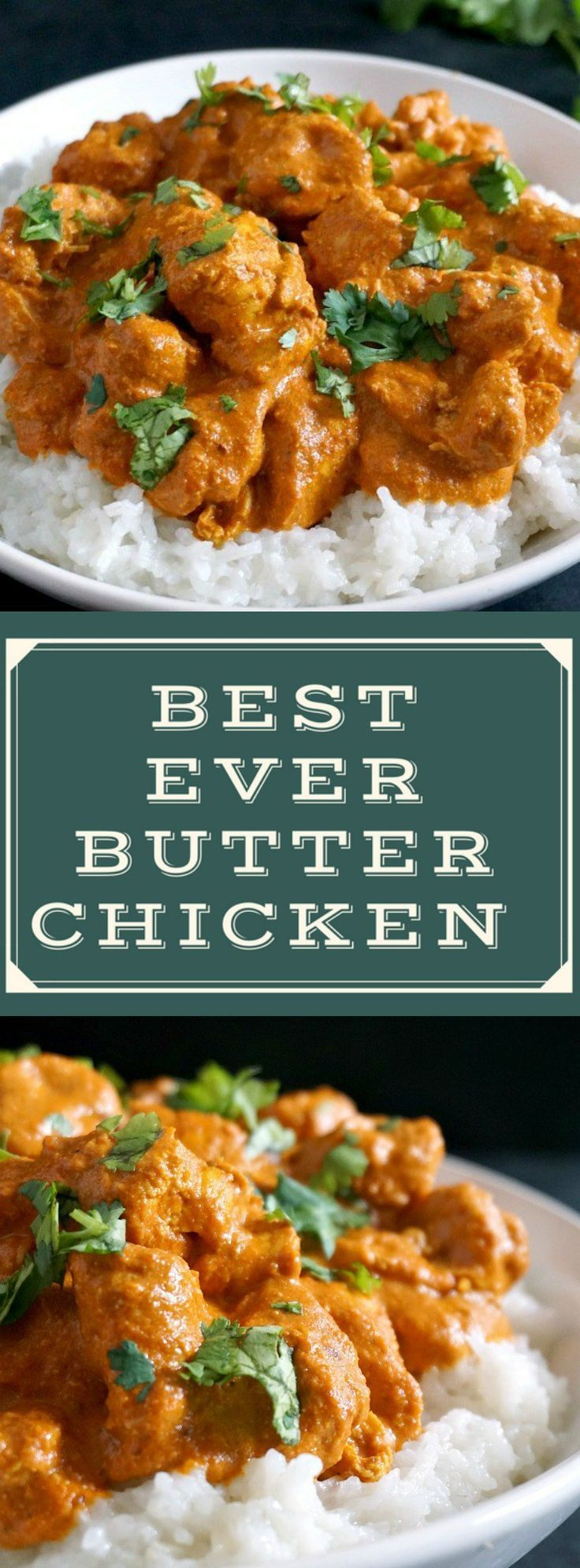This easy butter chicken recipe Indian style is my take on the classic chicken curry dish that is popular all over the world. With a rich creamy sauce and a fantastic blend of spices, this is one of the must-try easy family dinner recipes.