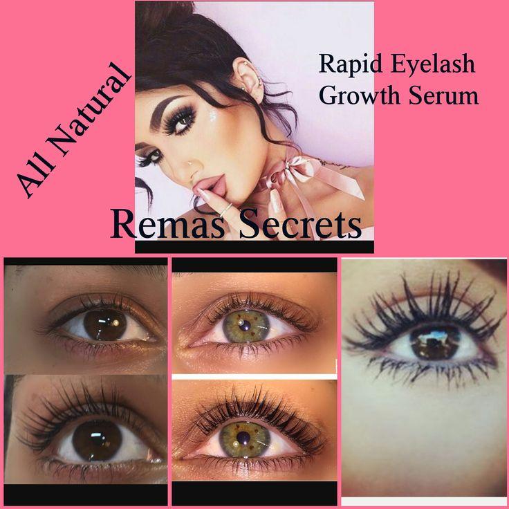 Rapid Eyelash Growth Serum 10ml jar