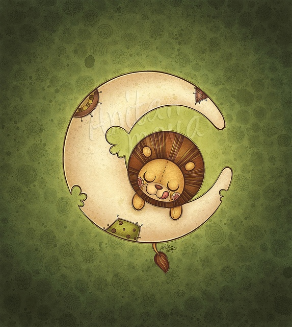 Baby Shower card ilustration