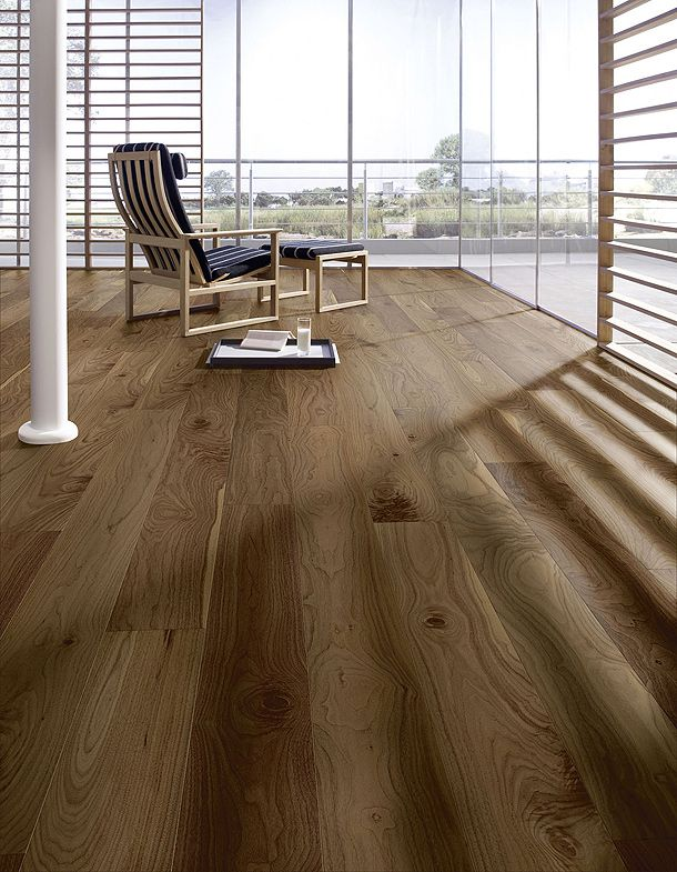 PD 400 Cottage. Nogal americano vivo. Barnizado. De Meister. Otto Parquet (Wood Floor)