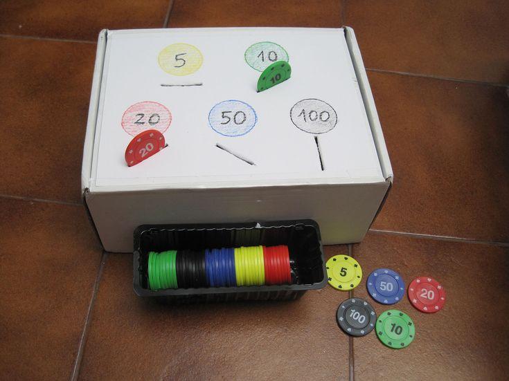 Motricidad Fina con fichas de Poker