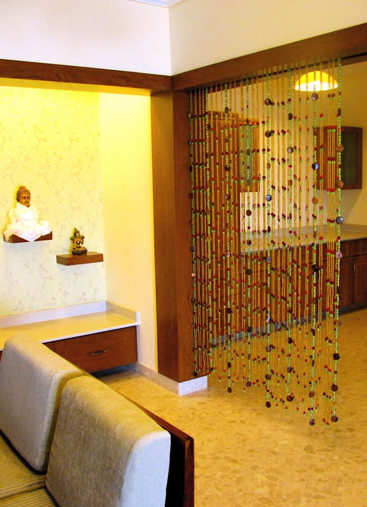 Bead curtain as room divider | Living Room | Pinterest ...