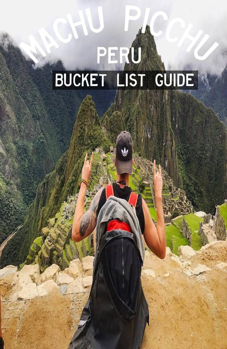 Guide: Machu Picchu, Peru