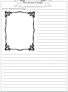 A Muslim home school: Stories of the Prophets Notebooking pages!