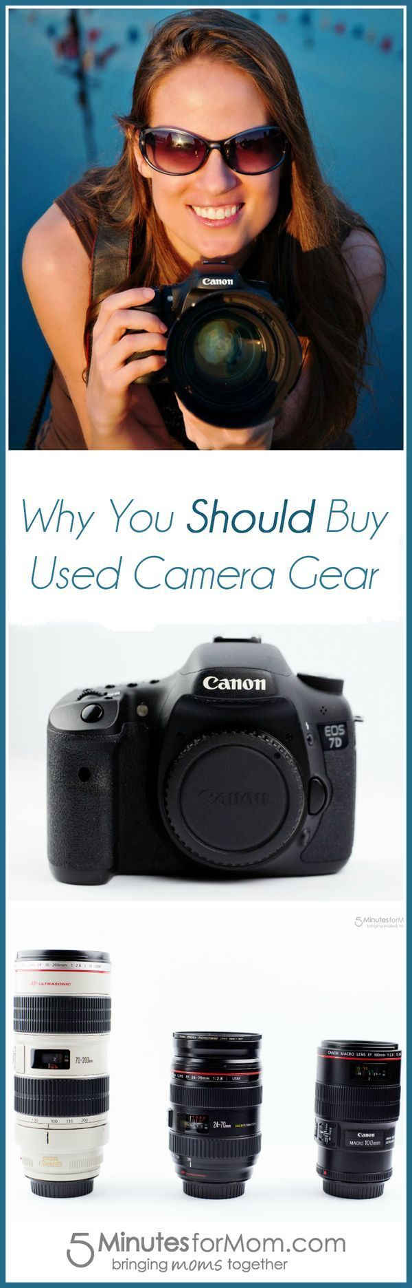 Why You Should Buy Used Camera Gear - In this sponsored post, Janice shares how she has grown her camera equipment collection while on a budget.