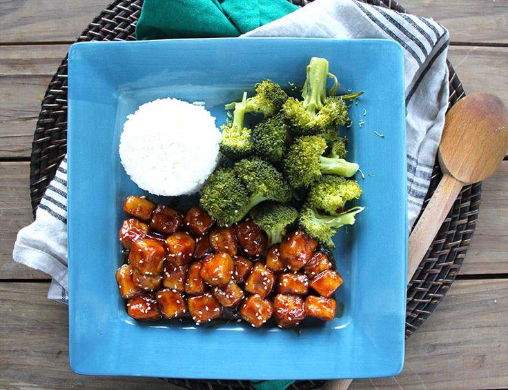 Spicy Orange Tofu Recipe - RecipeChart.com