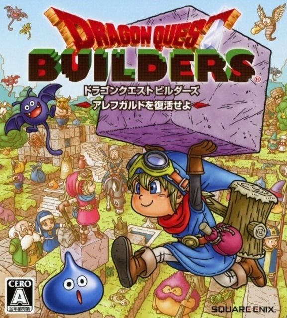 A spin-off from the long-running JRPG series, Builders tasks the player with rebuilding the ruined world of Alfegard... using some very familiar looking square blocks.