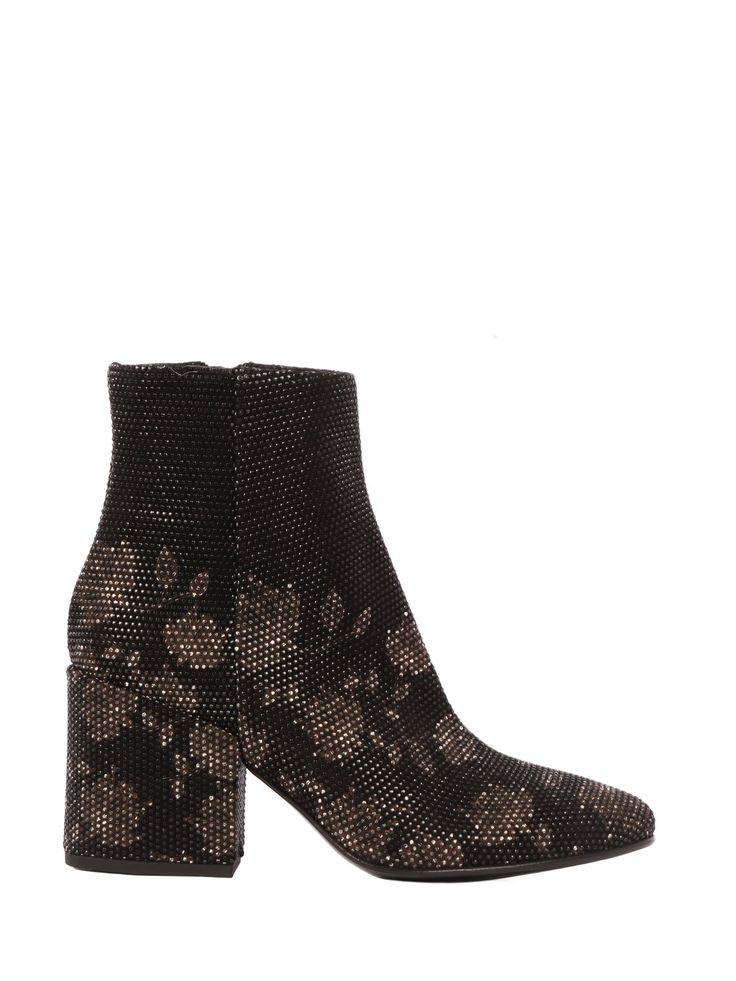 #Flowers & #Studs Ankle Boots by STRATEGIA www.strategiajfk.it