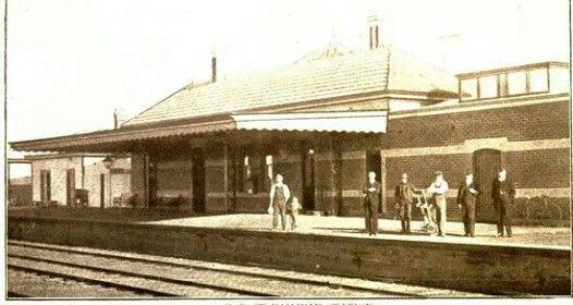 Koroit Railway Station, Koroit, Victoria, Australia
