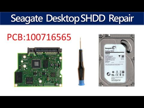 Seagate repair data recovery ST1000DX001 ST2000DX001  100716565 1CM162 0...