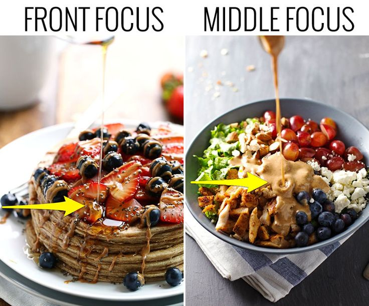 Food Photography: 10 Tips for the Pour Shot! #3. Set a focal point. | pinchofyum.com