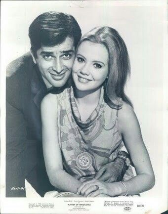 Shashi Kapoor with Hayley Mills