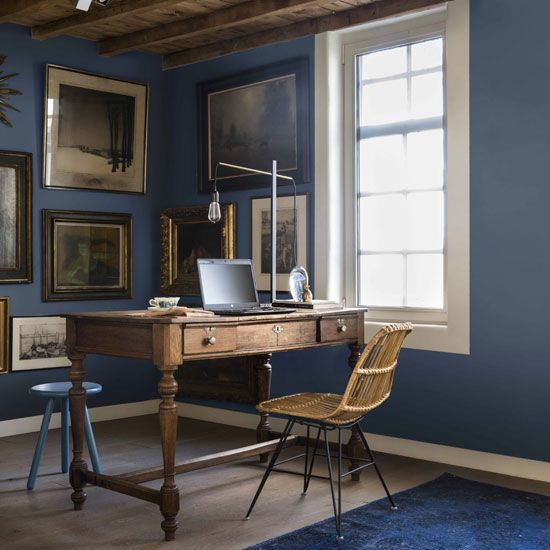 How to style the Dulux Colour of the Year 2017 - Denim Drift
