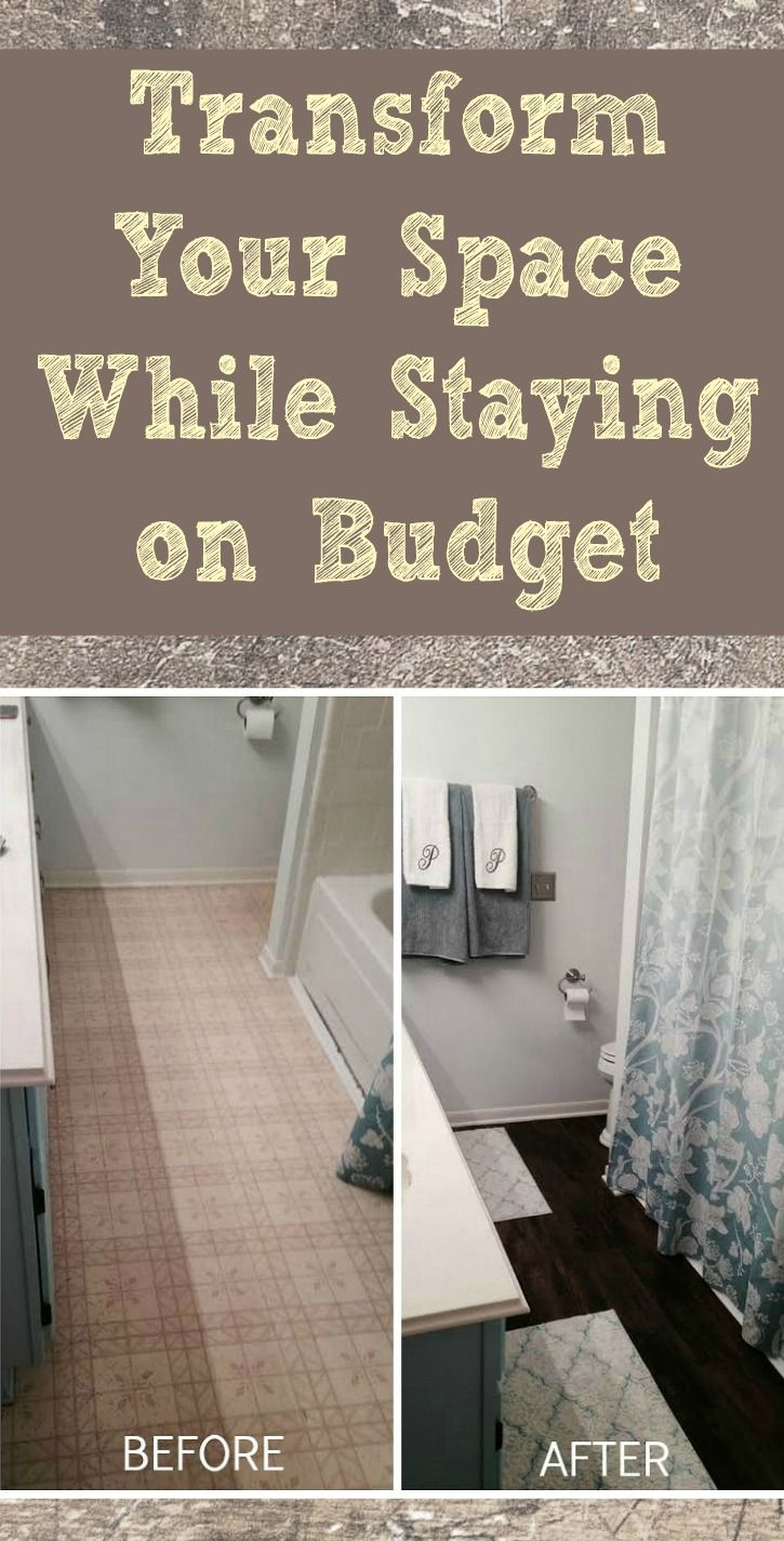 An easy and inexpensive way to transform your bathroom