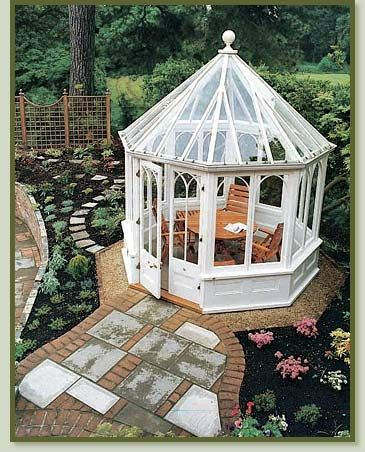 This would be a great place to read or have summer dinners.